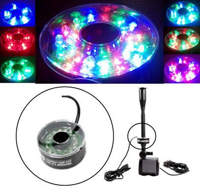 Светодиодный RGB светильник для фонтанов, бассейнов, аквариумов
