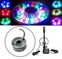 Светодиодный RGB светильник для фонтанов, бассейнов, аквариумов, фото 1