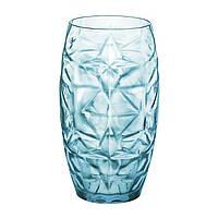 Rocco Oriente Стакан высокий голубая 470мл стекло BormioliRocco