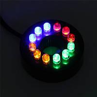 Светодиодная RGB подсветка для аквариумов, фонтанов, водоемов 12 LED