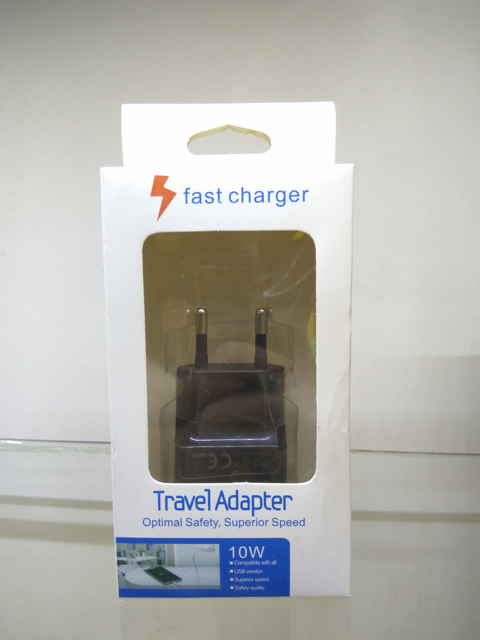 CЗУ блочек Travel Charger U90EWE 5V/2A