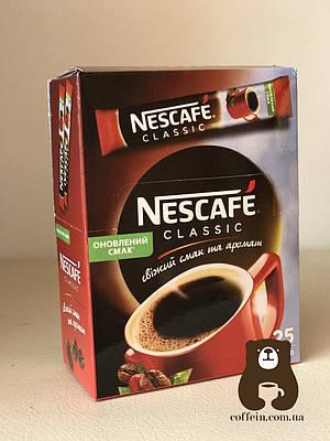 Кофе растворимый Нескафе классик 2 грамма стик