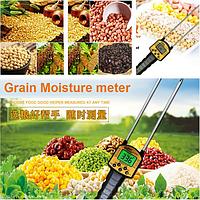 Влагомер измеритель влажности для зерновых культур, сыпучих веществ AR991 , фото 1