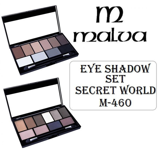 Тени для век Malva Eye Shadow Set Secret World М-460