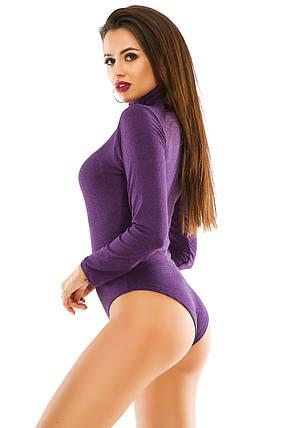 Боди 281 фиолетовый 42-46, фото 2