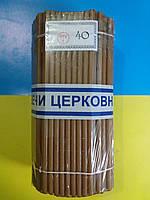 Свеча парафинова №40 (от 10 пачек)