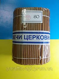 Свеча парафинова №80 ( от 10 пачек)