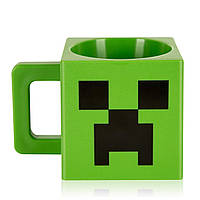 Кружка пластик GeekLand 3D Майнкрафт Крипер Minecraft Creeper BL7