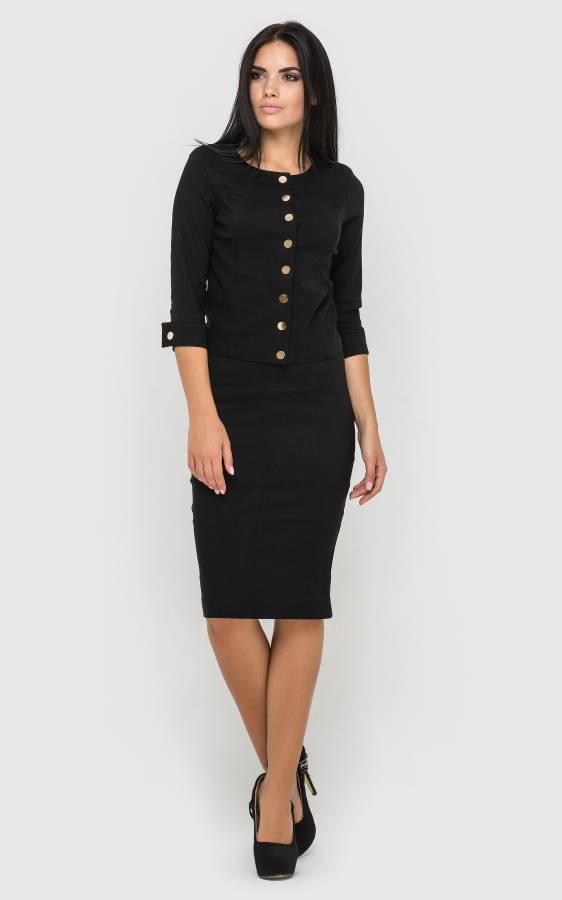 99e414635b4d Офисный женский костюм с юбкой - Интернет - магазин модной одежды и  аксессуаров