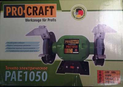 Точило точильный станок Procraft PAE1050