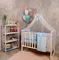 """Детский постельный комплект ТМ Маленькая Соня Baby Design """"Облака"""""""