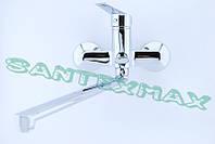 Змішувач для ванни латунний Haiba Nikas 006 Euro New, фото 1