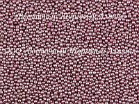 Декоративні перлини — Рожеві Ø1 - 200 г, фото 1