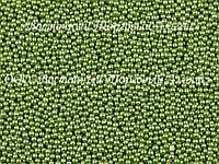 Декоративные жемчужины — Зелёные Ø1 - 200 г
