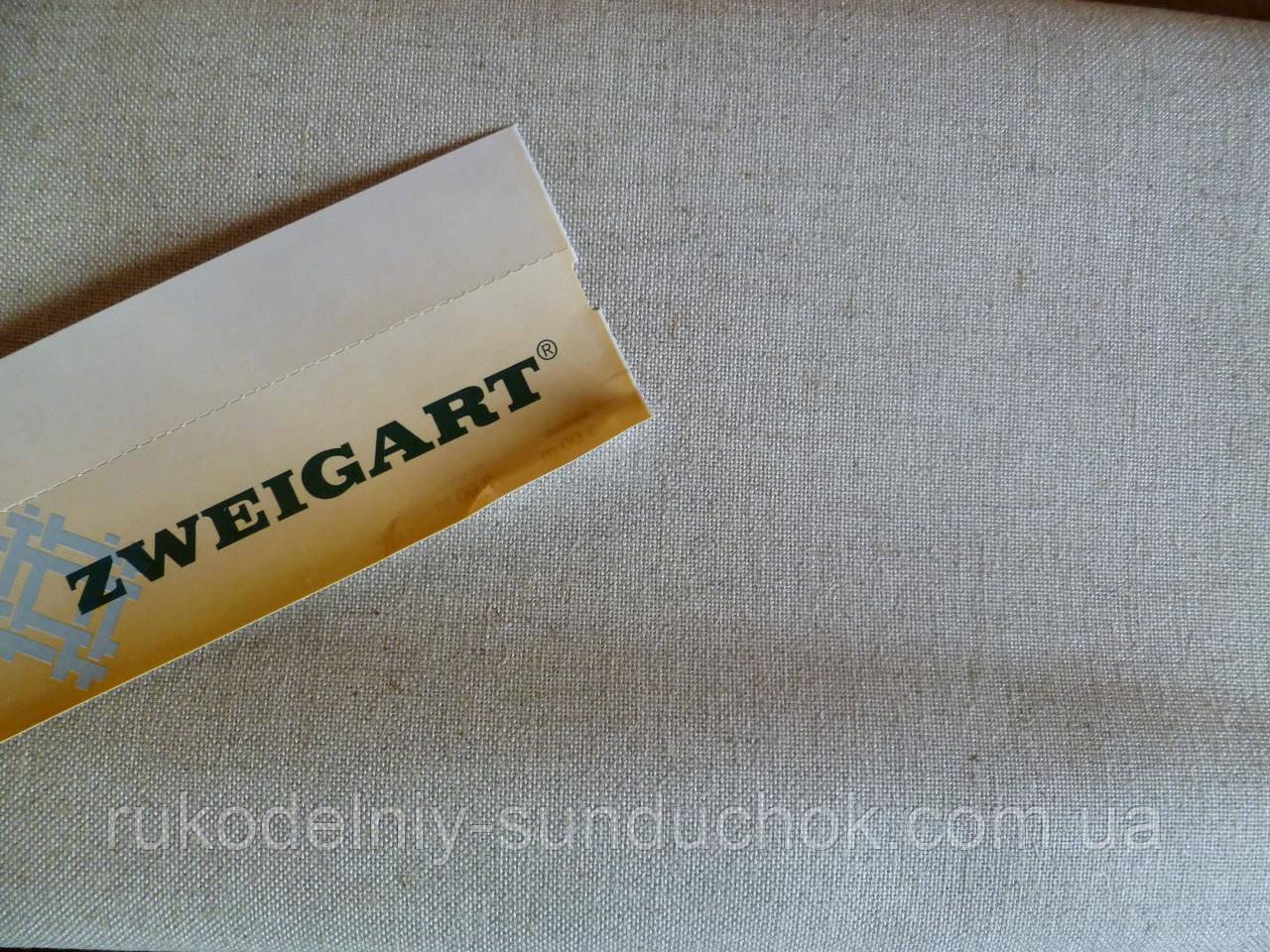 Ткань равномерного переплетения Zweigart Floba 32 ct. extra fine 3448/53 (цвет натурального льна) Flax