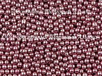Декоративні перлини — Рожеві Ø2(3) - 200 г, фото 1