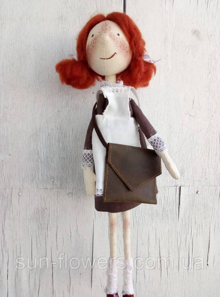 Тильда-девчуля(текстильная кукла)