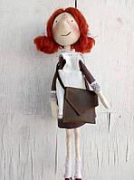 Тильда-девчуля(текстильная кукла), фото 1