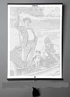 "Необычная книга Jerome K. Jerome ""Three Men in a Boat"", фото 1"