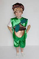 Дитячий карнавальний костюм для хлопчика Жолудь, фото 1