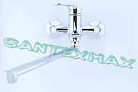 Смеситель для ванны латунный Haiba Dario 006 Euro New, фото 1