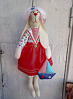 Тильда-зайка(текстильная кукла)