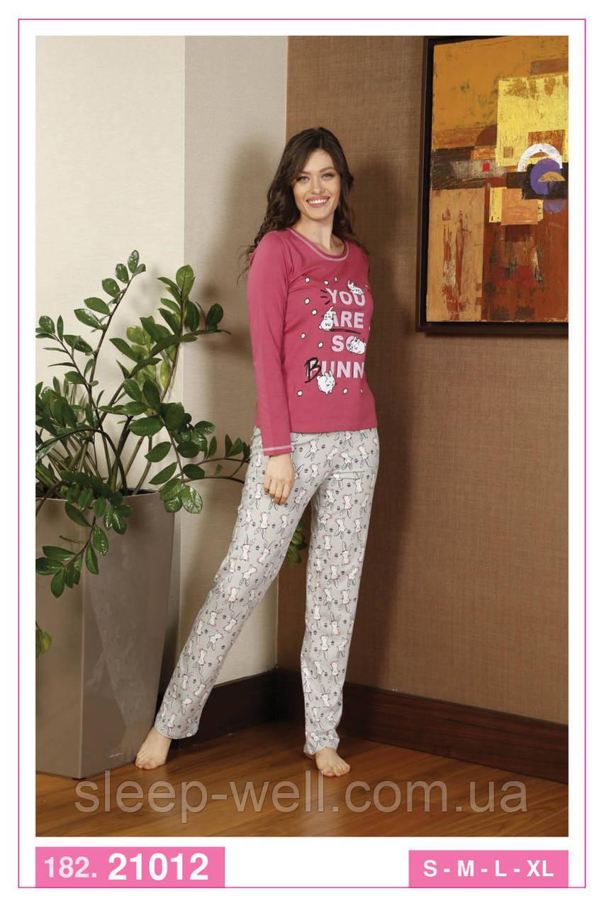 Жіночі піжами з довгими штанами