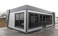 Модульный павильон UNIT A 07 (7х4,9 м)