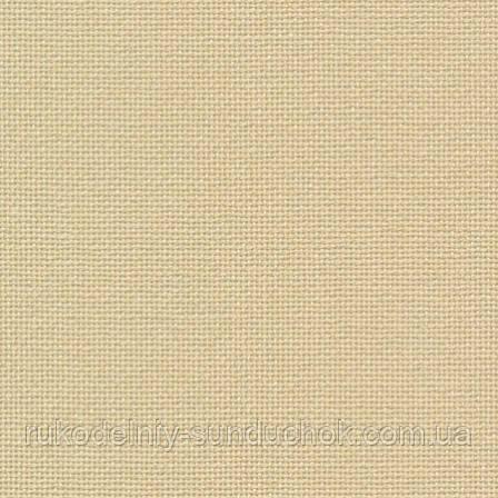 Ткань равномерного переплетения Zweigart Brittney Lugana 28 3270/3115 Sand/Песок Laurel Green/Лавровый зеленый
