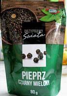 Перец черный молотый Pieprz Swiata Czarny Mielony, 80г, фото 1