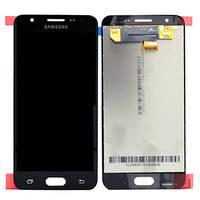 Дисплей для Samsung G570F Galaxy J5 Prime (2016) + touchscreen, черный, оригинал PRC