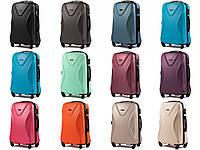 Брендовий ультралегкий дорожній чемодан ABS+ WINGS 518 великий 76х49х28 см