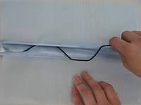 Профиль Экстра (зиг-заг), профиль и клипсы для крепления пленок, фото 1