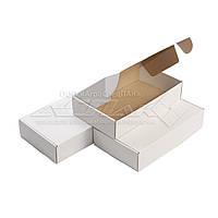 Картонные коробки самосборные 305х180х65, белые