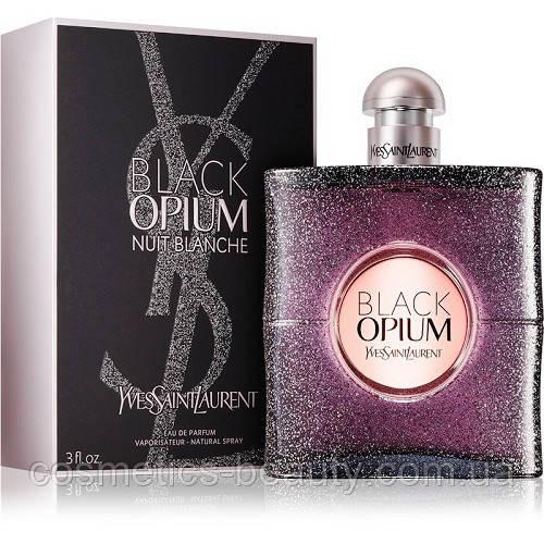 Жіноча парфумована вода Yves Saint Laurent Black Opium Nuit Blance.