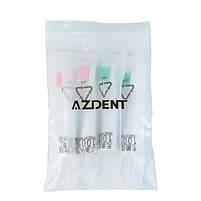 Azdent AZ-1 Black Насадки для звуковой электрической зубной щетки, 4 штуки, фото 3