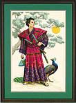 Набор для вышивки крестом Dimensions 3881 «Самурай»