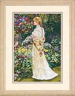 Набор для вышивки крестом Dimensions 35119 «В ее саду»