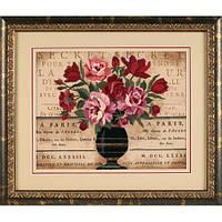 Набор для вышивки гладью Dimensions 1542 «Парижский букет»