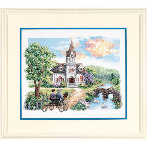 Набор для вышивки крестом Dimensions 3227 «Сельская церковь»