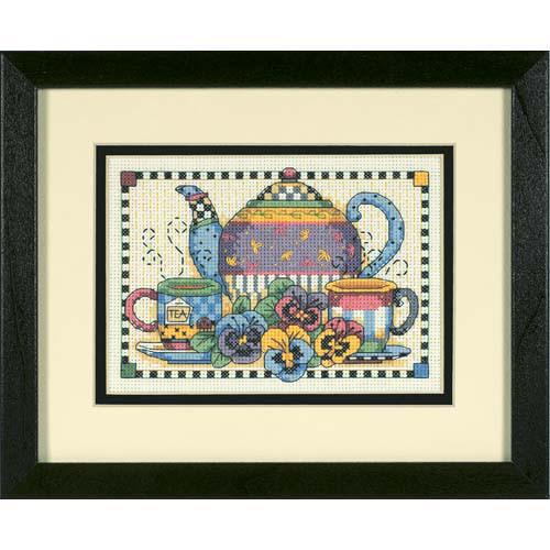 Набор для вышивки крестом Dimensions 6877 «Время вечернего чая»