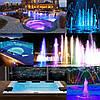 Прожектор компактный светодиодный Aquaviva LED028 99LED (7 Вт) RGB, фото 4