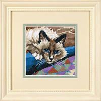 Набор для вышивки гобелен Dimensions 7228 «Милый котик»