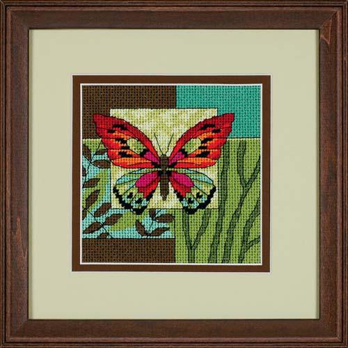 Набор для вышивки гобелен Dimensions 7222 «Бабочка»