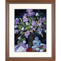 Набор для вышивки гобелен Dimensions 20067 «Тюльпаны и сирень»