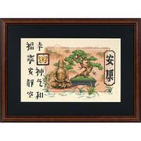 Набор для вышивки крестом Dimensions 35085 «Бонсай и Будда»