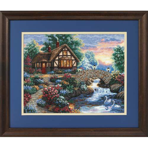 Набор для вышивки крестом Dimensions 35172 «Сумеречный мост»