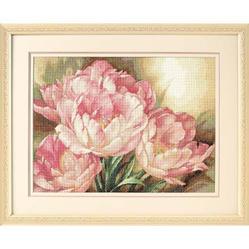 Набор для вышивки крестом Dimensions 35175 «Трио тюльпанов»