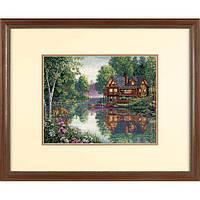 Набор для вышивки крестом Dimensions 35183 «Уютная хижина в лесу»