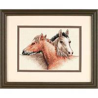 Набор для вышивки крестом Dimensions 65030 «Лошади»